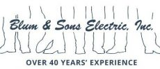 Blum & Sons Electric, Inc Logo