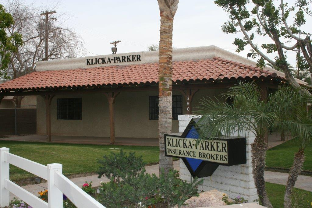 front building of Klicka-Parker Insurance Brokers