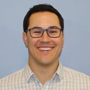 Adam Medeiros smiling